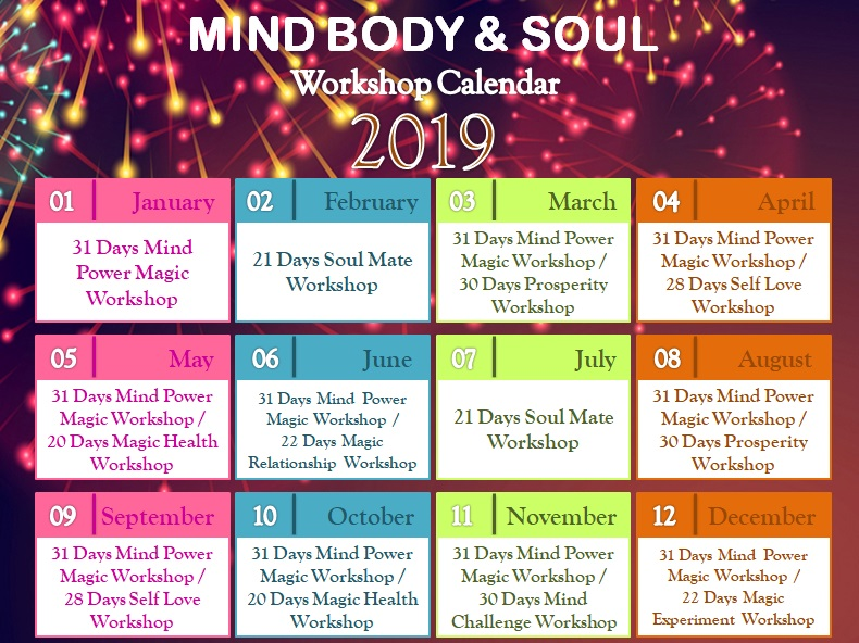 Law of Attraction – Mind Body & Soul